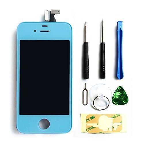 lcd pantalla Iphone 4s original lcd Azul