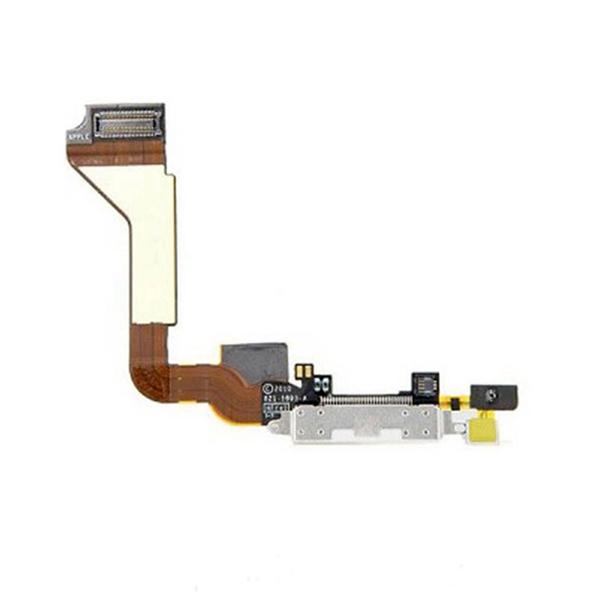 Carga Flex Microfono Flex para iPhone 4S blanco