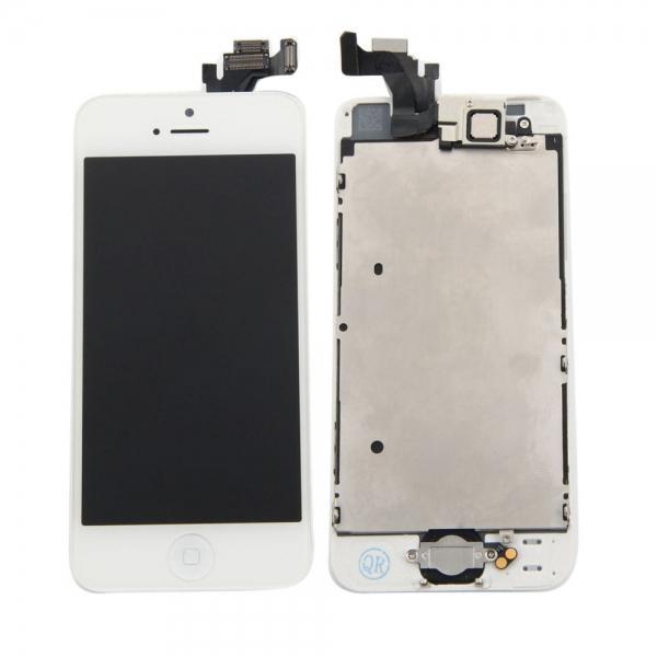 Pantalla Tactil Home Boton para iPhone 5 blanco