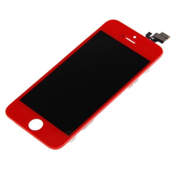 LCD Pantalla&Tactil para iPhone 5 rojo