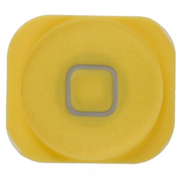 Home Boton para iPhone 5 amarillo