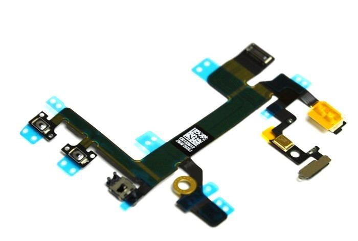 Flex Encendido Volumen Iphone 5 5c 5s Kit Instalacion Gratis