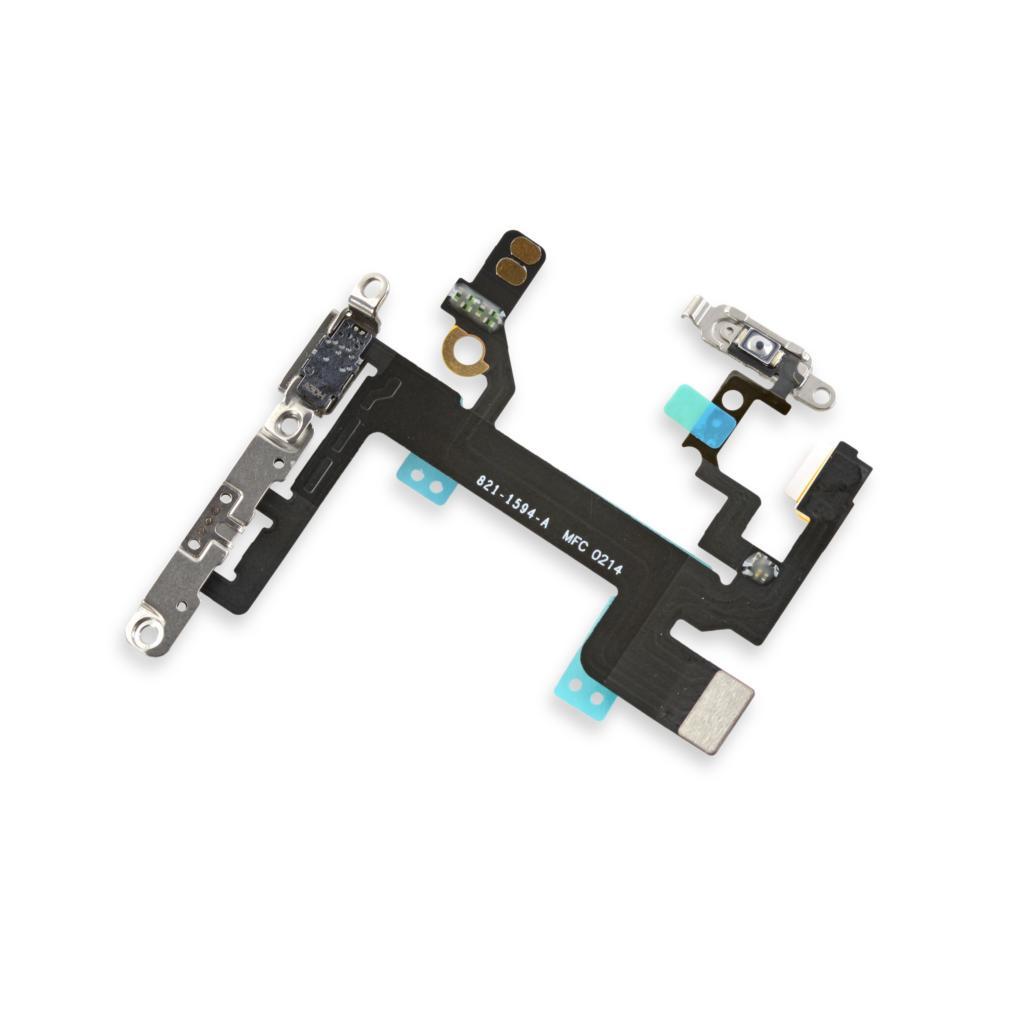 Flex Encendido Bloqueo Volumen Vibrador Iphone 5s Original