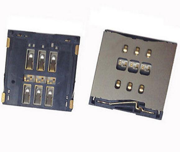 Simcard Dock Lot O Puerto Para Iphone 5 5s Pieza Original
