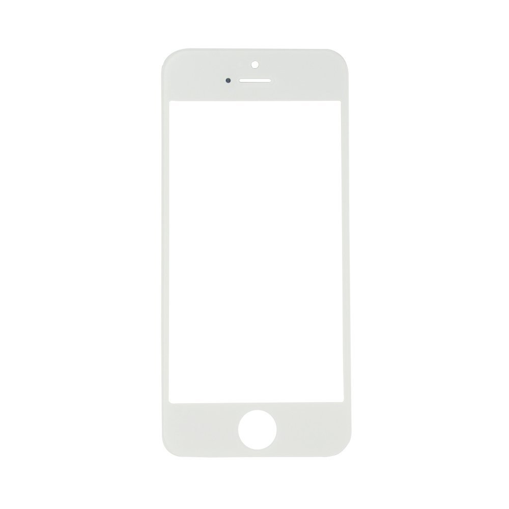 Cristal Iphone 5g 5c 5s Color Blanco