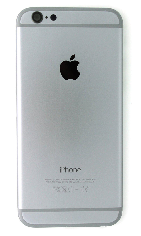 Carcasa Tapa Trasera Original Iphone 6 Con Botones grey