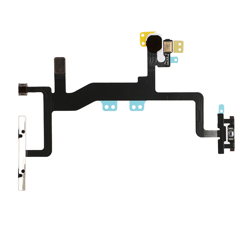 Encendido  apagado control volumen Mute Flex Cable con micrófono para iPhone 6s