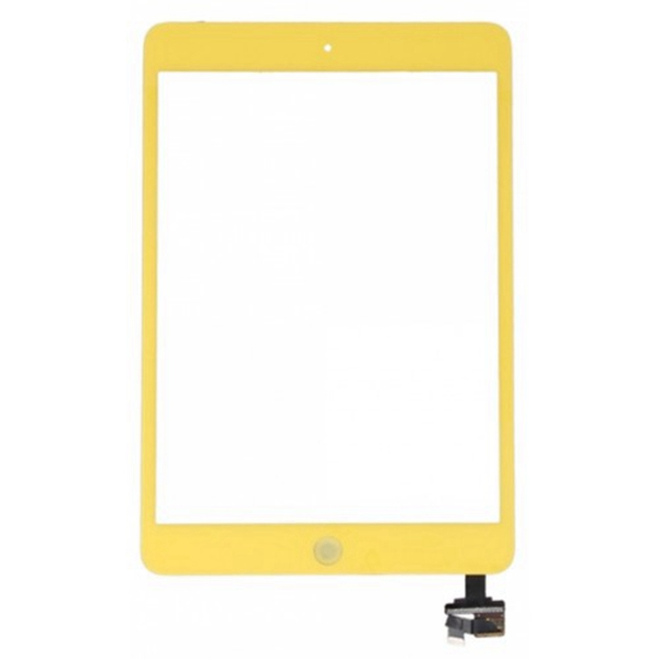 Tactil &IC Chip para iPad Mini amarillo