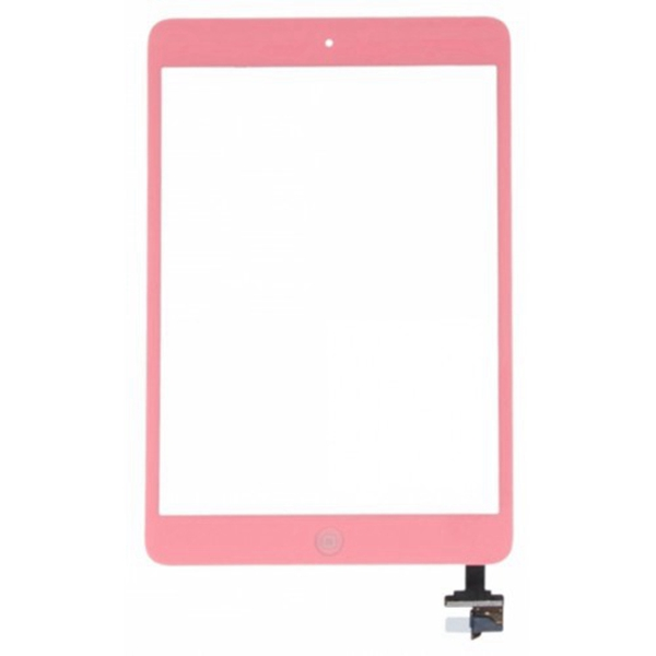 Tactil &IC Chip para iPad Mini rosa