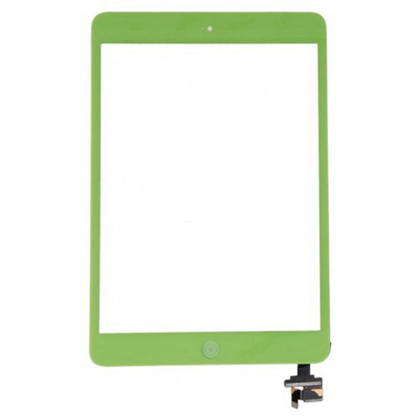 Tactil &IC Chip para iPad Mini verde