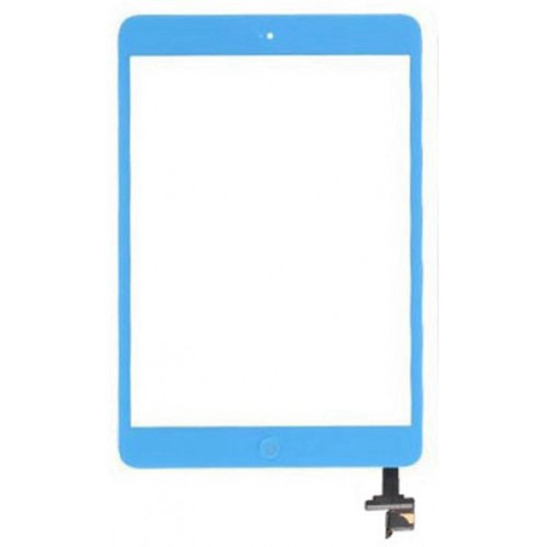 Tactil &IC Chip para iPad Mini azul