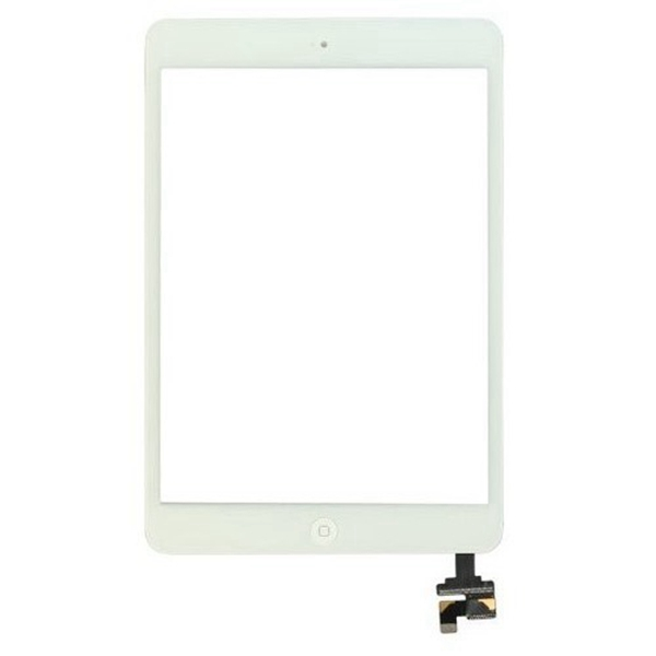 Tactil &IC Chip para iPad Mini blanco