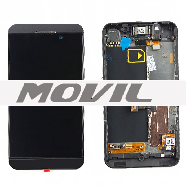 LCD BlackBerry Z10 with touch and frame Alta calidad Pantalla para BlackBerry Z10 with touch and frame-3