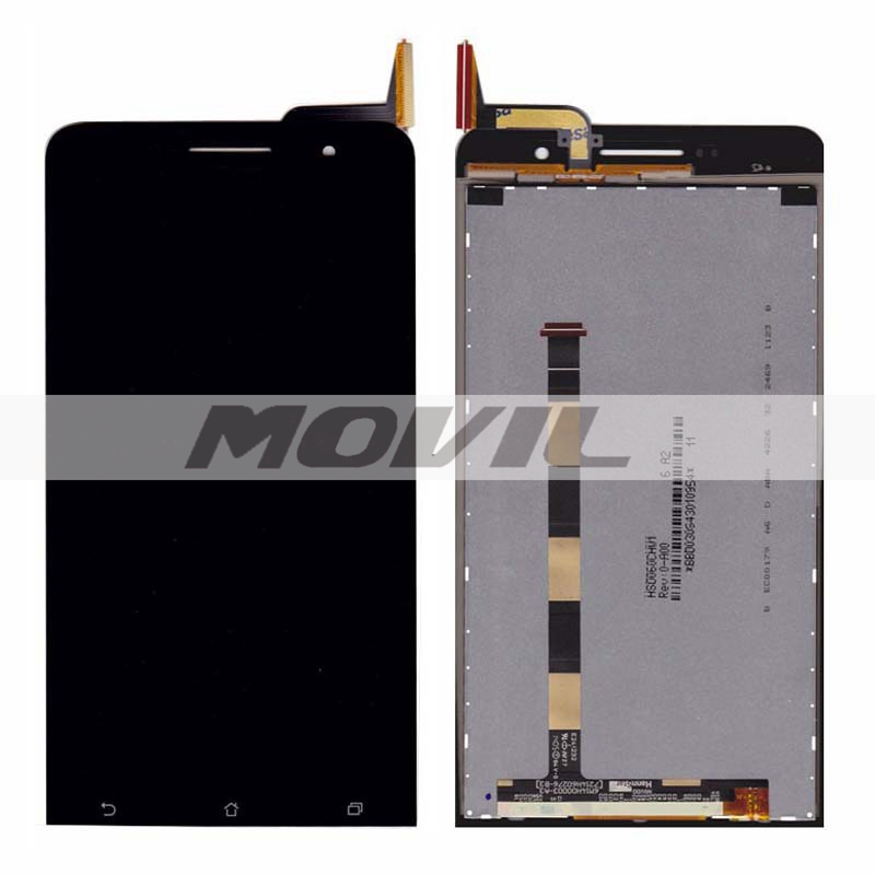 LCD Display tacil Screen   Replacements para Asus ZenFone 6 A600CG A601CG Free shipping
