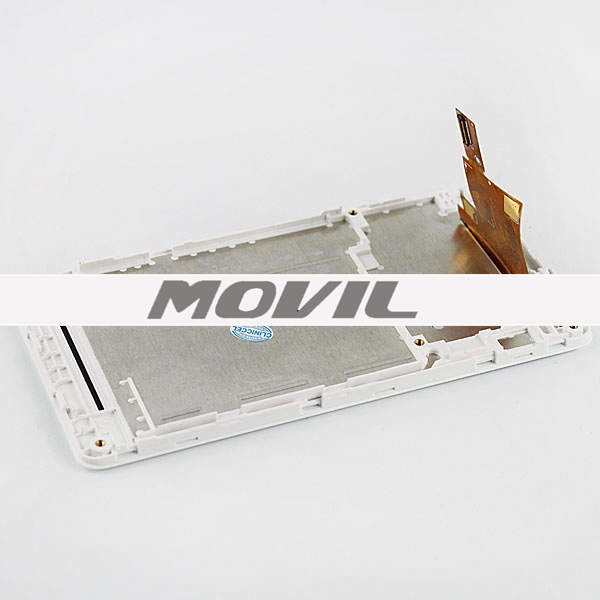 LCD-SONY-xperia M-with touch and frame White LCD pantalla para Sony xperia M with touch and frame White-2