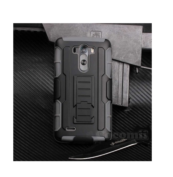 LG G3 Case  Cocomii HEAVY DUTY Robot Case military defender black gray