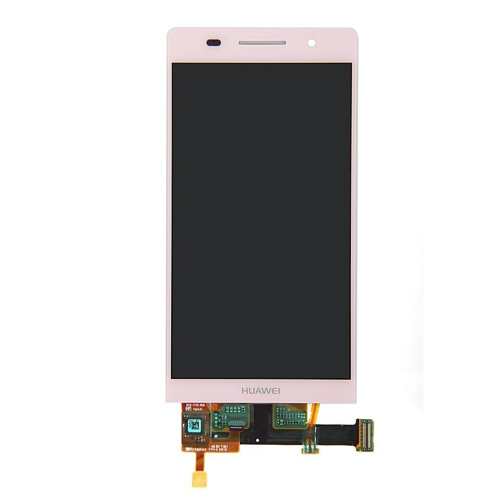 Lcd Display + Cristal Touch Huawei Ascend P6 Color Rosa