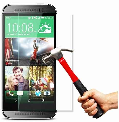 Mica Cristal Templado Glass Protector Htc One M8  M9