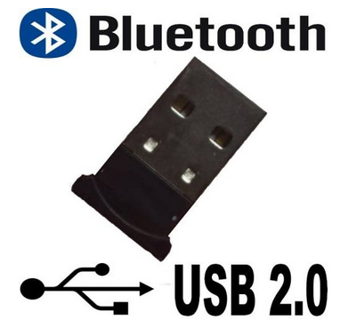 Mini Adaptador Bluetooth 2.0 Dongle Usb Pc Tablet Notebook