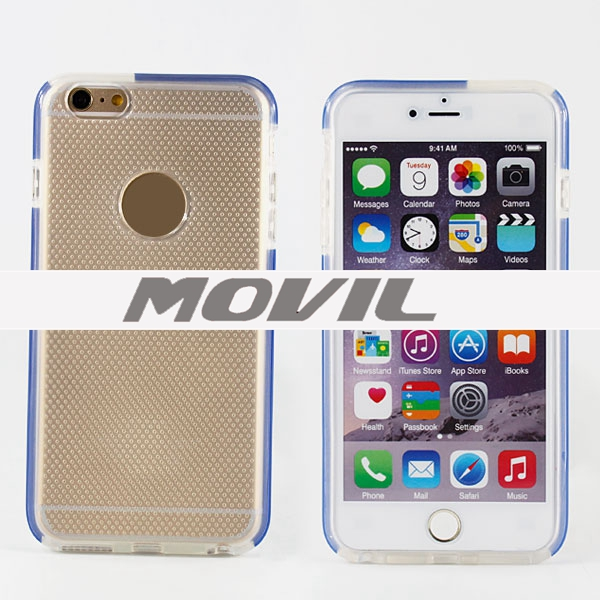 NP- 2193 Funda de TPU suave para Apple iPhone 6 plus-0