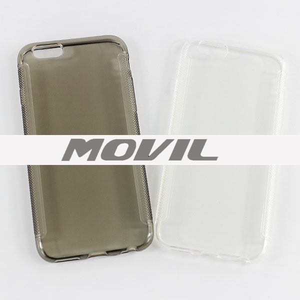 NP-1873 Transparente tpu funda para iPhone  6-9