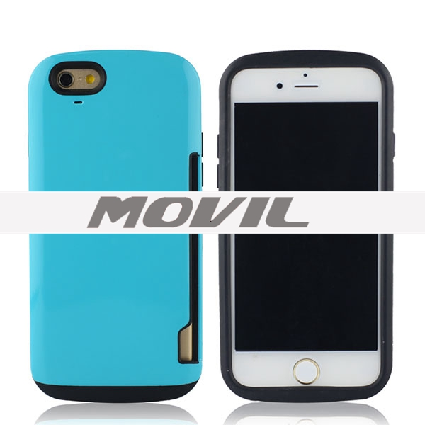 NP-1898  tpu pc  Funda para iPhone 6 -16