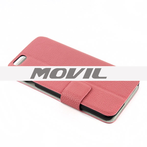 NP-1960 PU  leathe funda para Apple iPhone 6-2