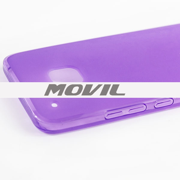 NP-2037 Transparente tpu funda para HTC One M9-3