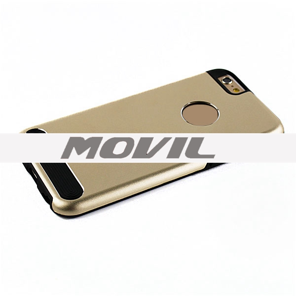 NP-2153 Combinación tpu   pc funda para Apple iPhone 6 -8