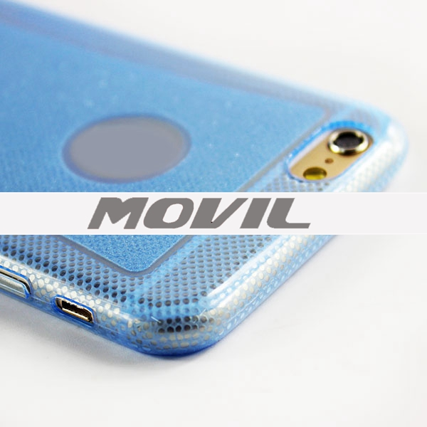 NP-2154 Tpu funda del brillo para Apple iPhone 6-9