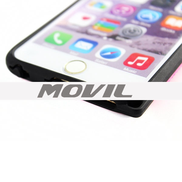 NP-2198 alta calidad tpu   pc funda para Apple iPhone 6 plus-3