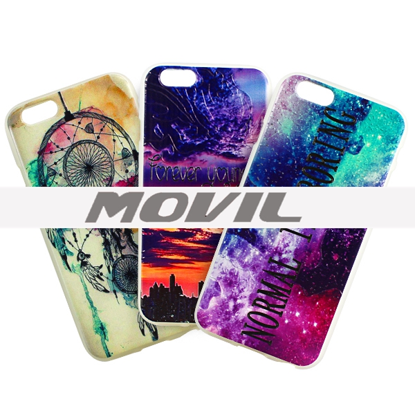 NP-2547 Color dibujo  funda Apple iPhone 6-0