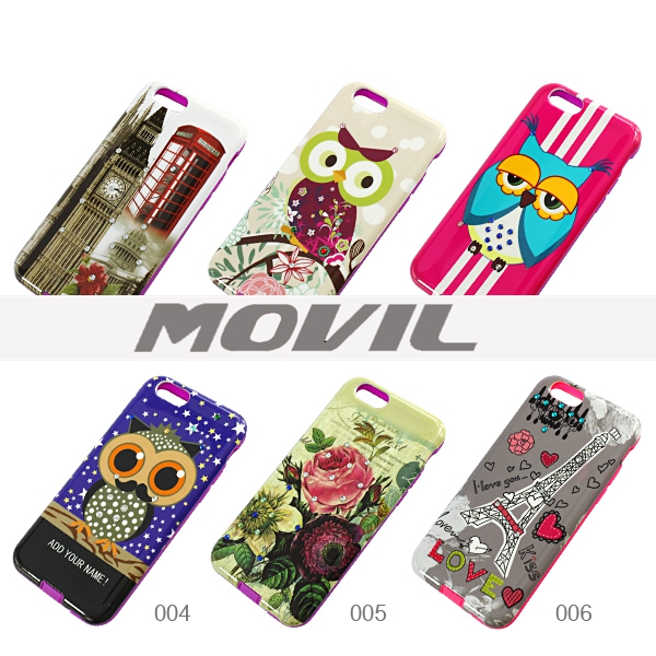 NP-2572 TPU   PC funda para Apple iPhone 6-1