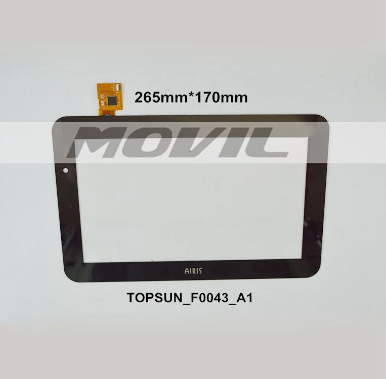 New 10.1 inch Tactil Screen Digitizer para AIRIS TOPSUN F0043 A1