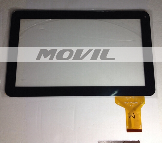 OPD TPC0305 LCD tactil Panel Prestigio tactil Screen Digitizer Glass Texet para Tablet PC