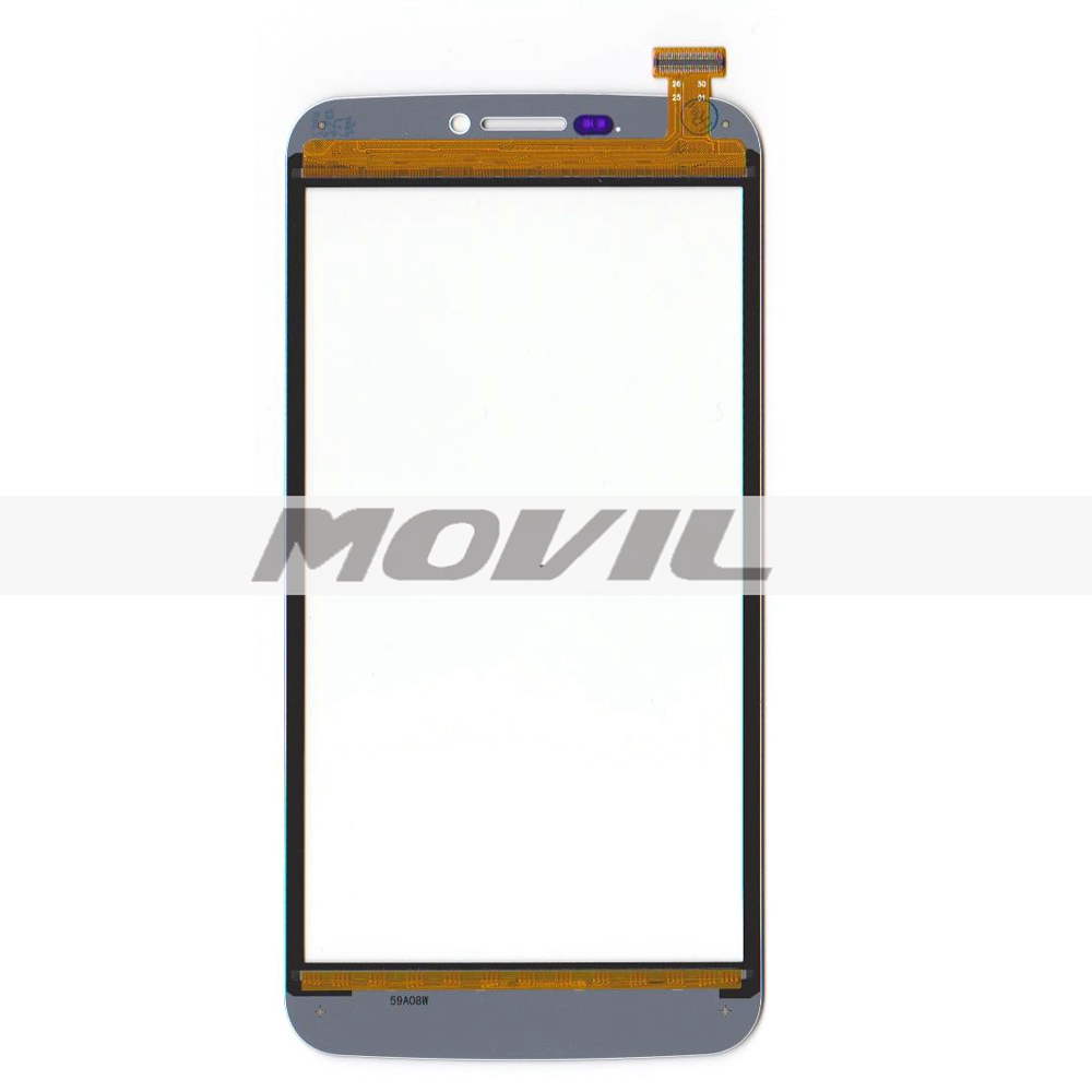 Original New para Archos 59 Xenon tactil Screen Digitizer glass para Archos 59