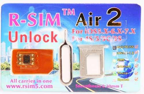 Rsim Air 2 R-sim Gevey Turbosim Iphone 4s 5 5s 5c
