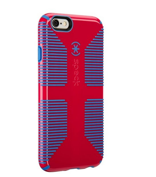 Speck Products CandyShell Grip Case for iPhone 6  6S - Lipstick Pink Jay Blue
