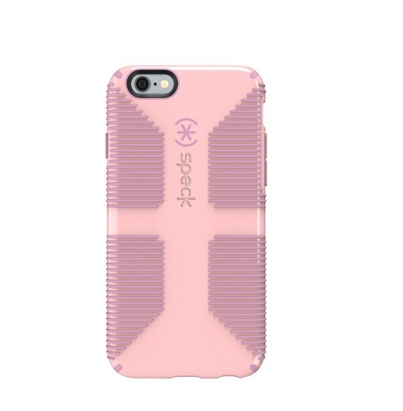 Speck Products CandyShell Grip Case for iPhone 6 6S - Retail Packaging- Pink Pale Rose Pink