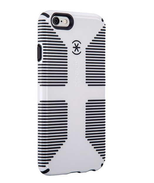 Speck Products CandyShell Grip Case for iPhone 6 6S - White Black