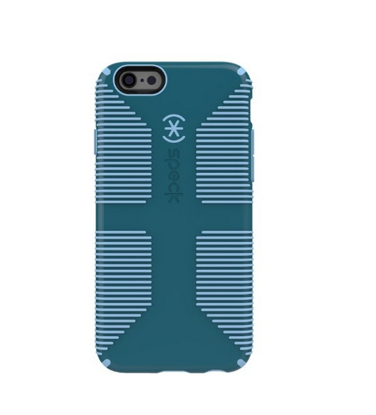 Speck Products CandyShell Grip for iPhone 6 6s - Retail Packaging - Atlantic Green Periwinkle Blue