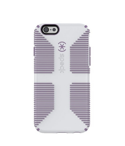 Speck Products CandyShell Grip for iPhone 6 6s - Retail Packaging - Dolphin Grey Lilac Purple
