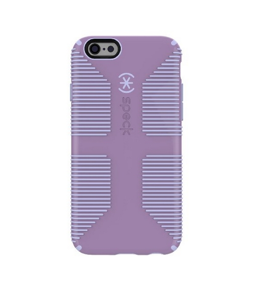 Speck Products CandyShell Grip for iPhone 6 6s - Retail Packaging - Lilac Purple Iris Purple