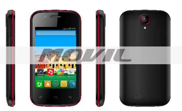 T60 3.5 inch 3G Dual Core T60 MTK6572M Kitkat Android 4.4