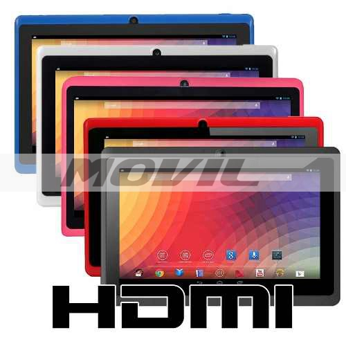 Tablet Android 4.2.2 Memoria 8gb Wifi 1.2ghz 512mb Dual Cam