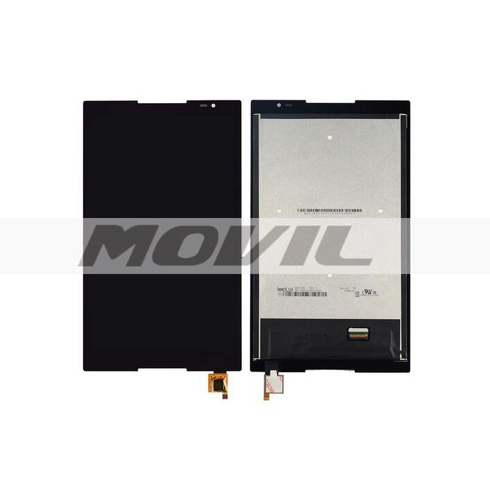 Texted negro Tacil touch lcd display assembly Para Lenovo Tab S8 50 S8 50F S8