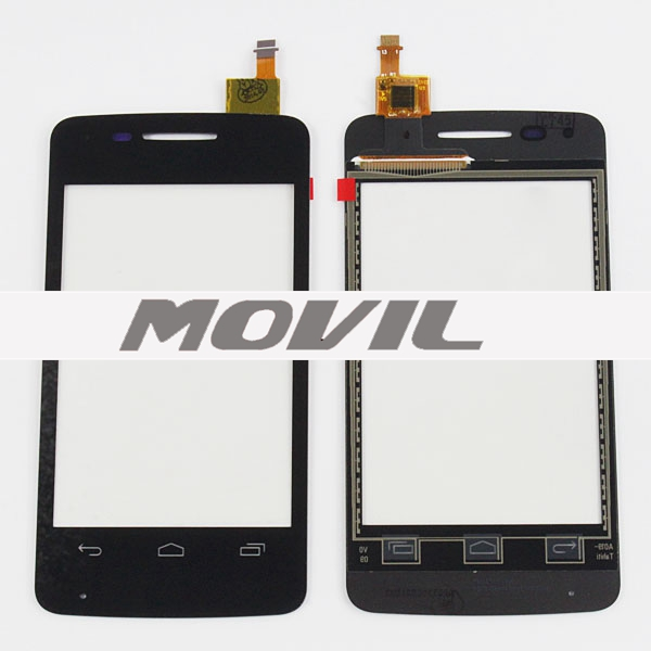 Touch  for Alcatel OT4010 Touch para Alcatel OT4010-5
