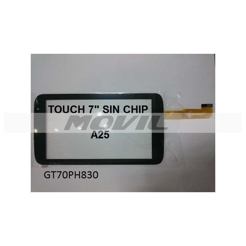 Touch tactil para tablet flex 7 inch SIN CHIP A25 GT70PH830