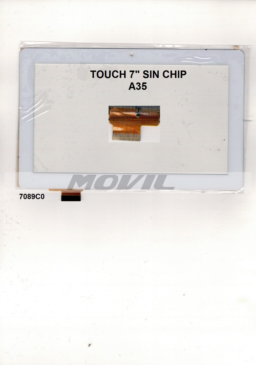 Touch tactil para tablet flex 7 inch SIN CHIP A35 7089C0