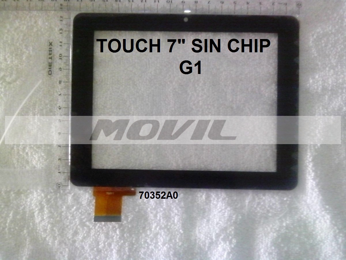 Touch tactil para tablet flex 7 inch SIN CHIP G1 70352A0